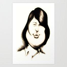Brian Wilson Art Print