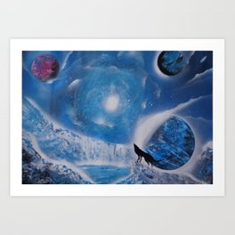 A (Frozen) Night To Remember Art Print