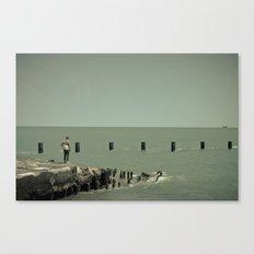 On Lake Michigan Canvas Print