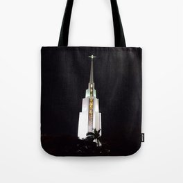 Coral Ridge Church Steeple Tote Bag