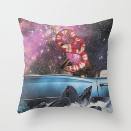 Taking a Trip Throw Pillow