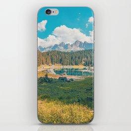 Lake Carezza, Italy iPhone Skin