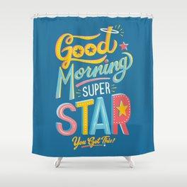 Superstar Shower Curtain