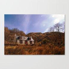 Cailness Cottage Canvas Print
