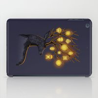yellow iPad Cases featuring Dream Guide by Freeminds