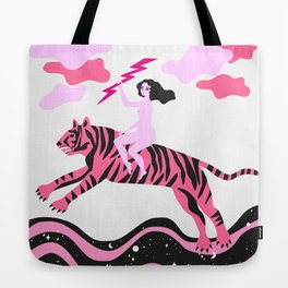 girls save the world Tote Bag