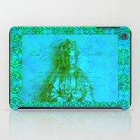 budi satria kwan iPad Cases featuring Jade Kwan Yin by Jan4insight