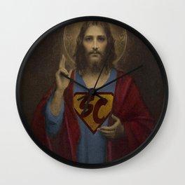 superchrist Wall Clock