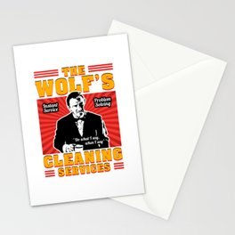 The Wolf - Pulp Fiction Stationery Cards