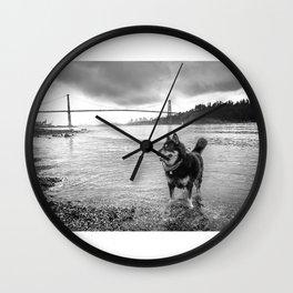 Canadian German Shepherd Wall Clock