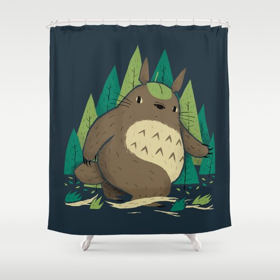 torofoot Shower Curtain