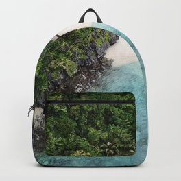 Isolated Beach Backpack
