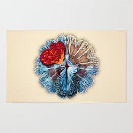 Ernst Haeckel Revisited Rug