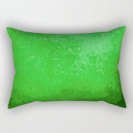 Green Light Cave Rectangular Pillow
