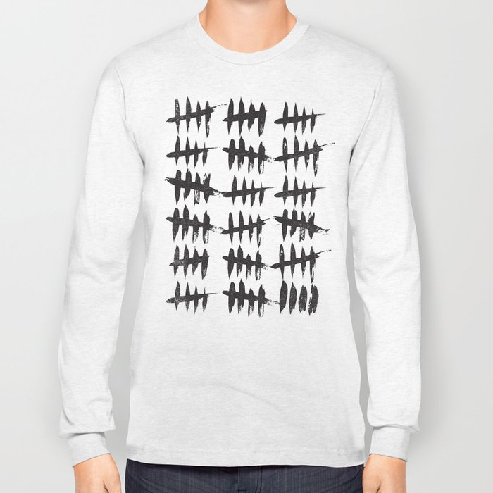 KEEPING TRACK OF THE DAYS Long Sleeve T-shirt