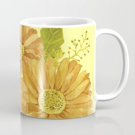 Happy Marigold Bouquet Coffee Mug