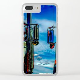 Trucking Clear iPhone Case