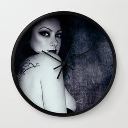 Cold Shoulder Wall Clock