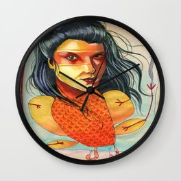 FIRE BIRD Wall Clock