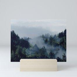 End in fire Mini Art Print