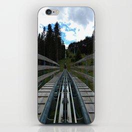 adventure park hög schneisenfeger coaster alps sfl tyrol austria europe iPhone Skin