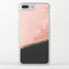 Pink Sands Clear iPhone Case