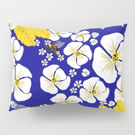 Bumbly Bees with Backbacks Pillow Sham