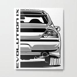 Lancer Evolution Metal Print