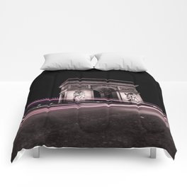 Arc de triomphe Paris France Comforters
