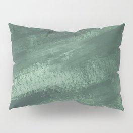 Evergreen Brushstroke Pillow Sham