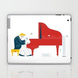 Pianist Laptop & iPad Skin