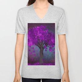 TREE OF PINK Unisex V-Neck