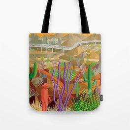 Desert City Phoenix Tote Bag