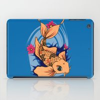 koi fish iPad Cases featuring koi fish by Pinkspoisons