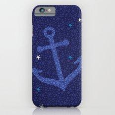 Starfish Anchor - Navy iPhone 6 Slim Case