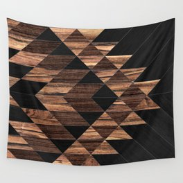 Urban Tribal Pattern No.11 - Aztec - Wood Wall Tapestry