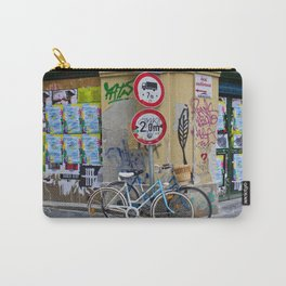 Bicycles and Street Art in Budapest's Old Jewish Ghetto Carry-All Pouch