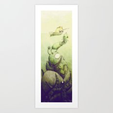 Ooli Sea Art Print