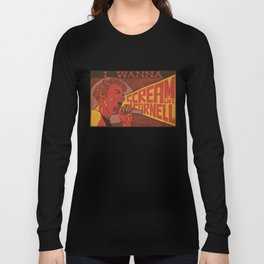 I Wanna Scream Like Cornell Long Sleeve T-shirt