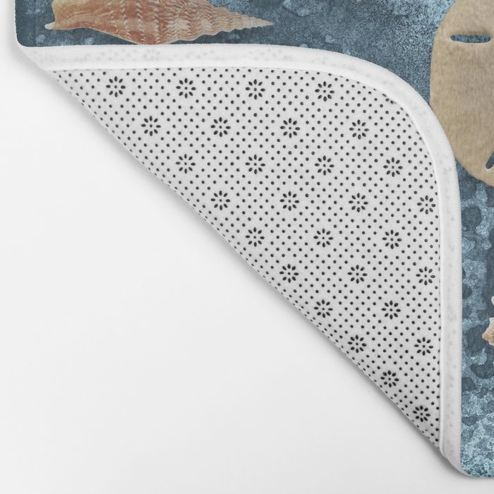 Seashells collection #1 Bath Mat