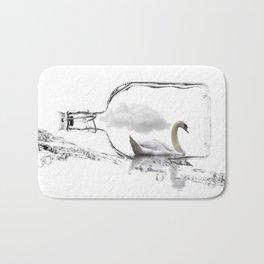 travel in a bottle Bath Mat