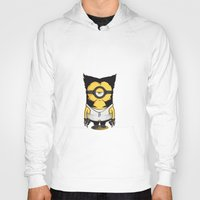 minions Hoodies featuring X-MINION by bimorecreative