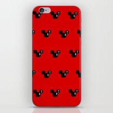 8 Bit Mouse Pattern iPhone & iPod Skin