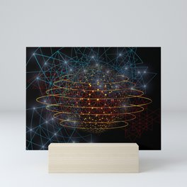 Earth Drowned Mini Art Print