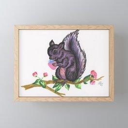 Megan Thee Squirrel Framed Mini Art Print