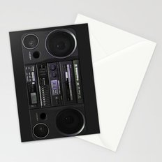 Boombox iPhone4 case (follow link below for iPhone5) Stationery Cards