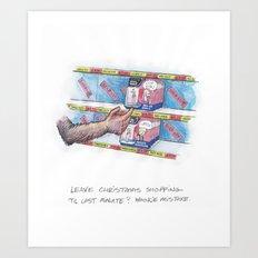 Wookie Mistake Art Print