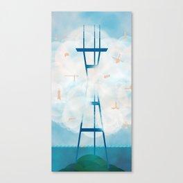 Fog City Canvas Print
