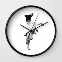 best friend Wall Clocks featuring Best Friend by Michael Hewitt