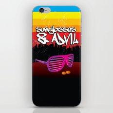 Sunglasses and Advil iPhone & iPod Skin